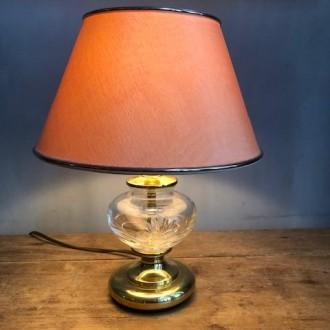 Kristal messing tafellampje Nachtmann Leuchten design