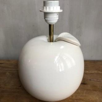 Retro tafellamp keramiek in de vorm van appel