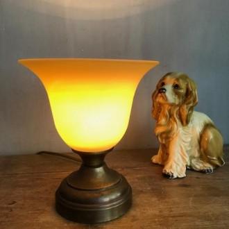 Messing kelk lampje