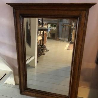 Antieke Hollandse spiegel (62,5 x 87 cm)