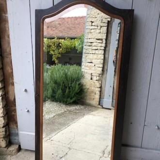 Antieke kastdeur spiegel of pas spiegel
