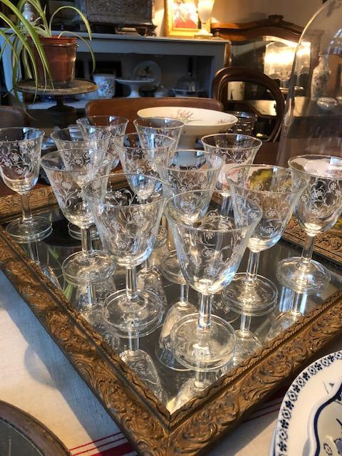Franse wijnglazen