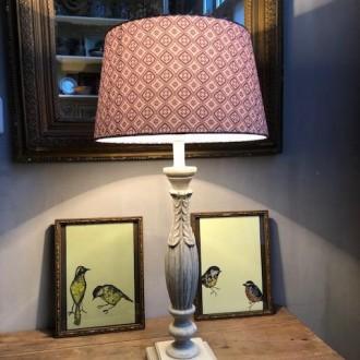 Brocante tafellamp
