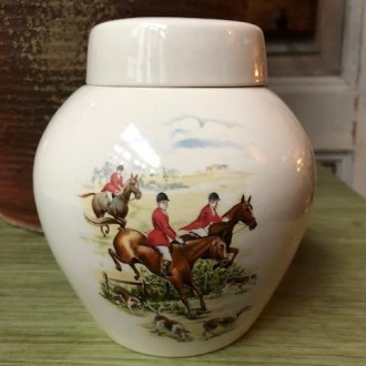 Vintage tea jar van W. King & Co limited