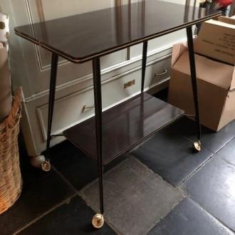 Vintage trolley of bijzettafel | Verkocht