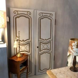Antieke Franse eiken kastdeuren