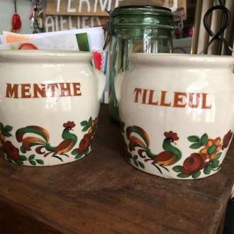 Sale: Grespotten Tilleul en Menthe
