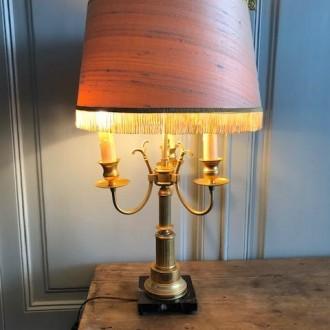 Franse Buillotte lamp messing