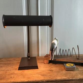 Industriële oude bureaulamp metaal