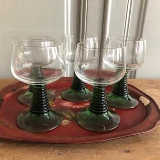 Elzas Roemer wijnglazen (5)