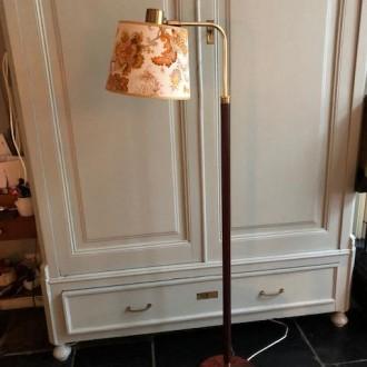 Mid century vloerlamp Floraal